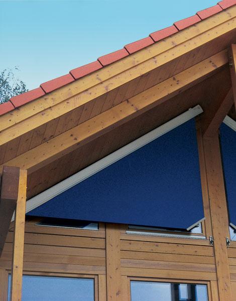 Triangular Window Blind Curtain